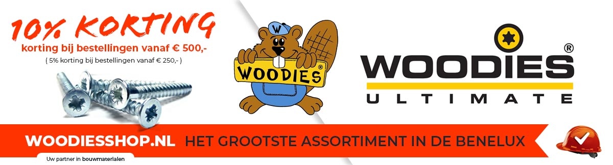 Woodies Ultimate schroeven